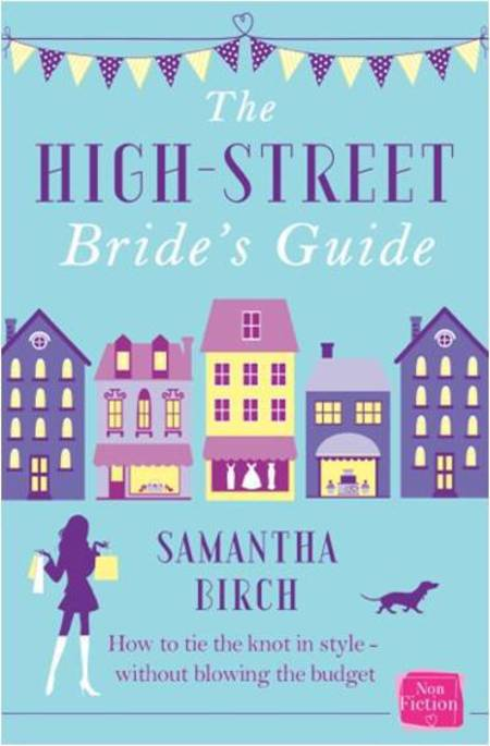 The High Street Bride's Guide book cover - bridal book - wedding planning - wedding budgets - wedding advice - day bag - handbag.com