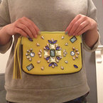 DIY Fashion Fix: Embellished clutch