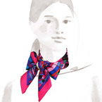 Tie your scarf in fancy ways with Hermes Silk Knots app