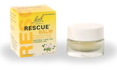 handbag essentials - makeup for your handbag - emergency solutions - back rescue remedy - lip balm - multipurpose balm - handbag.com