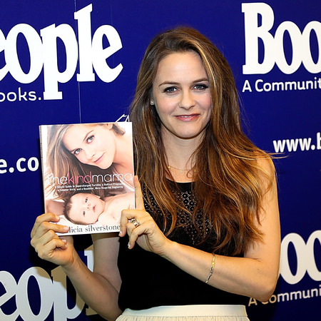 alicia silverstone - new motherhood book - The Kind Mama controversy - baby bag - handbag.com