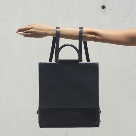 Building block designer handbags - black backpack - new handbag designer - handbag shopping news - handbag.com