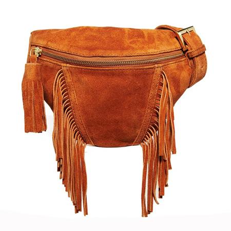 festival bags-asos-bumbag-fringing-brown suede-traveller trend-secure bag - handbag.com