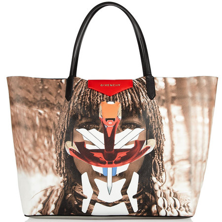 givenchy-tote bag-antigona tribe-photo print-it bag-summer 20140-tribal trend - handbag.com