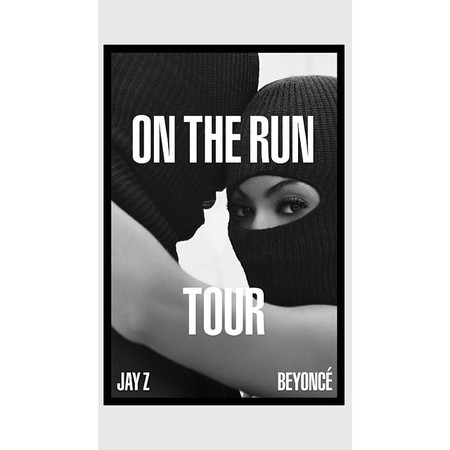 Jay Z and Beyonce On the Run tour poster - beyonce and jay z are taking over the world - day bag - handbag