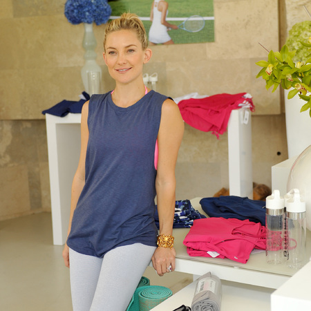 kate hudson - Fabletics - spring collection - gym fashion news - gym bag - handbag.com