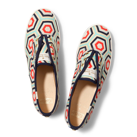 keds x kate spade collaboration - printed sneakers - fashion news - shopping bag - handbag.com