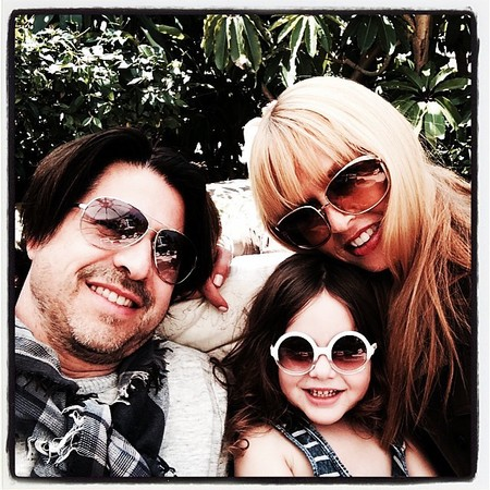 Rachel Zoe selfie with her son and husband - rachel zoe and jessica alba's children are cooler than their mums - baby bag - handbag