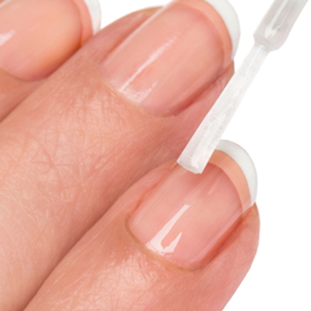 Revlon Royal Wedding nails-nail art How To tutorial-jenny longworth-french manicure-white tips-twist on the classic look-step 3 - handbag.com