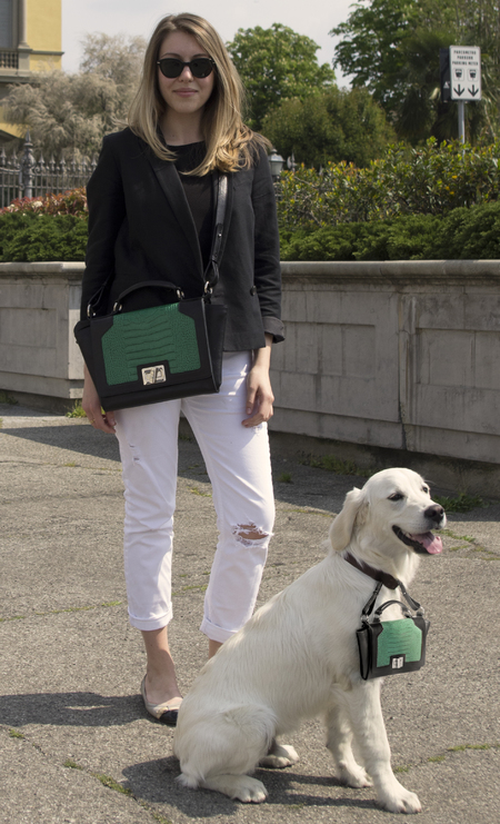 Designer handbags for your dog - matching handbags with your dog - designer handbag trend - doggy style - handbag news - handbag.com