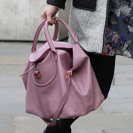 Fearne Cotton designer bag collection - mili melu pink handbag - handbag.com