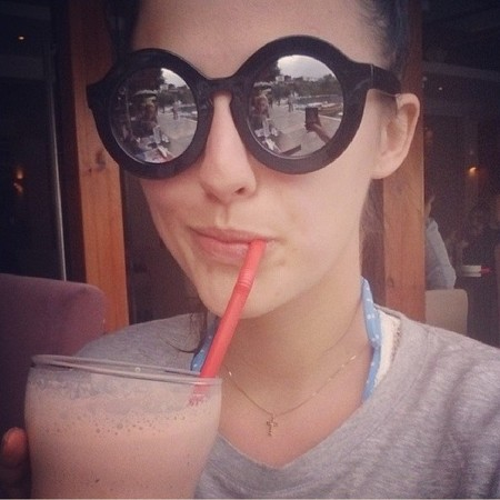 Lucy Watson - sunglasses - fashion - style - made in chelsea - handbag.com