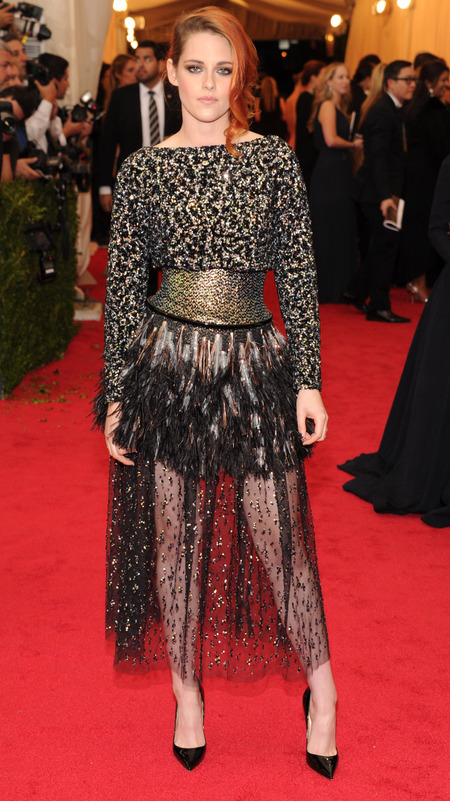 Kristen Stewart at Met Ball, 2014