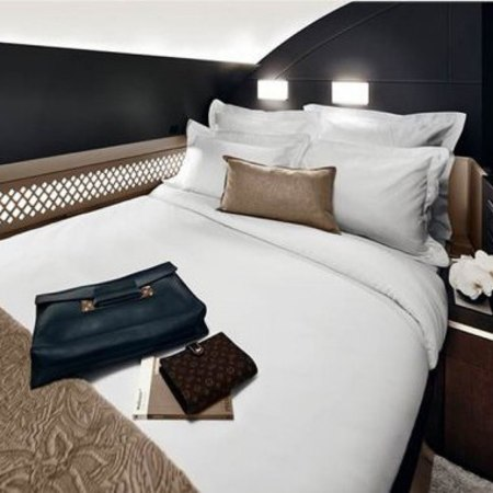 First class apartment on flights - flying first class - luxury travel - travel news - travelbag - handbag.com