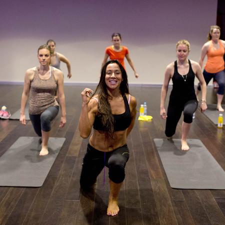 Nova pilates and yoga and virgin active gym - review - group picture - handbag.com