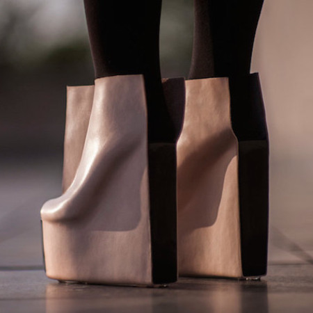 rectangle shoes by Czech designer Maria Nina Vaclavek designs - would you wear these? - shopping news - shopping bag - handbag.com