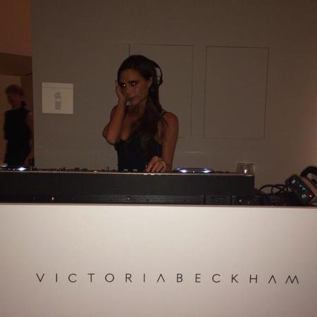 Victoria Beckham the DJ