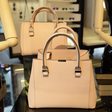Victoria Beckham - handbag collection - on pedder - singapore - nude - handbag.com