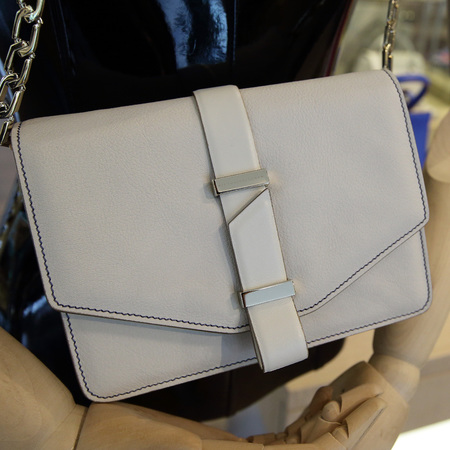 Victoria Beckham - handbag collection - on pedder - singapore - white clutch bag - handbag.com