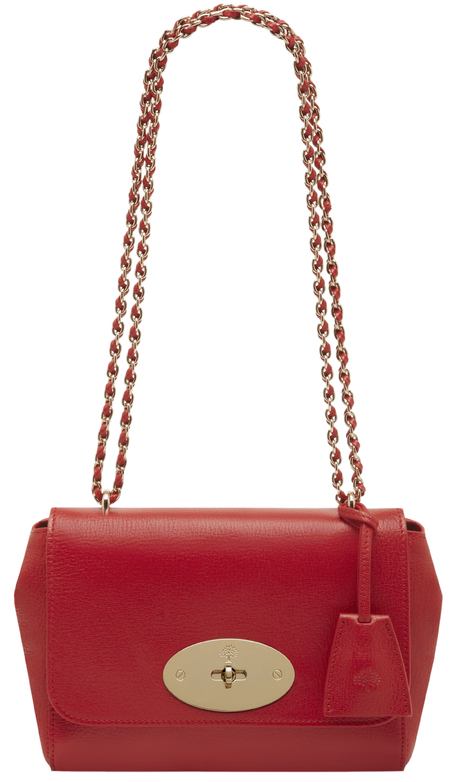 mulberry red lily bag-designer handbag-exclusive-summer 2014 colour trends-handbag.com