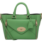 Go green with Mulberry handbags