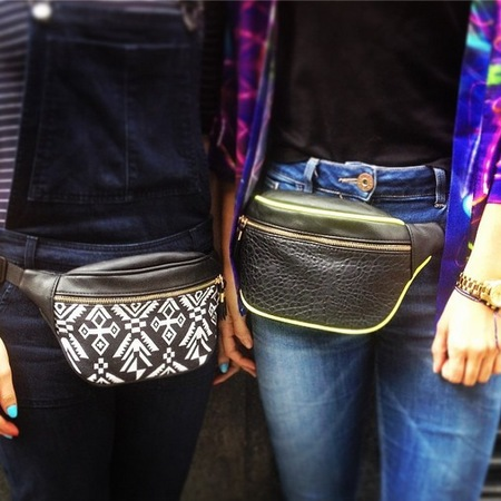Fashion trend on trial - bumbags - how to wear a bumbag in real life - handbag.com