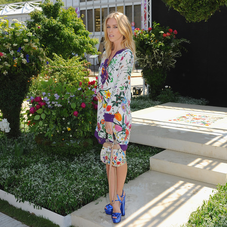 Lady Mary Charteris wearing Gucci to Chelsea Flower Show - Chelsea Flower Show - gucci garden - designer handbag brand - handbag news - london news - handbag.com