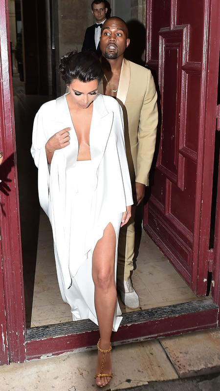 kim kardashian kicks off her wedding wardrobe - shopping bag - handbag