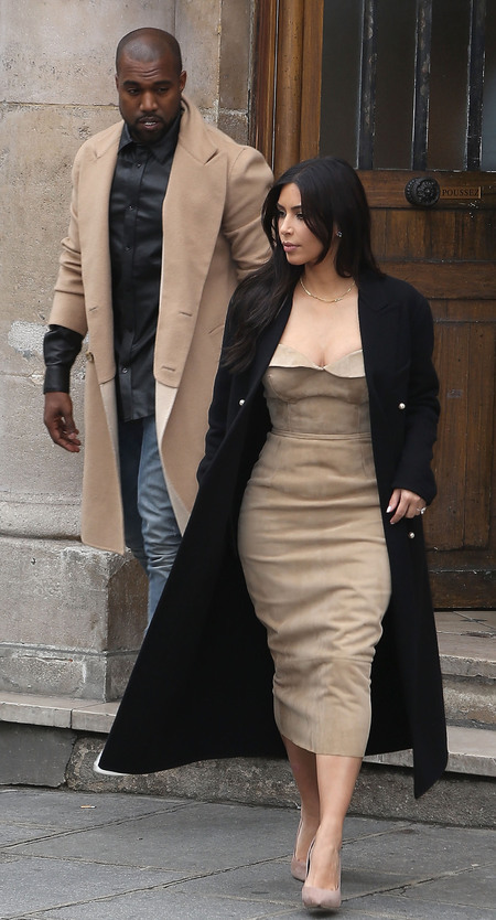 Kim Kardashian and Kanye West's matching clothes