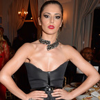 Cheryl Cole goes gothic at Cannes