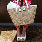 Who wants a straw basket bag this summer?