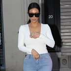 Kim K's gone 90s for the wedding