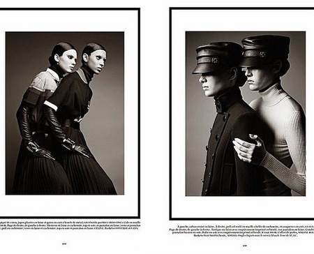 Kendall Jenner - Paris Vogue - Instagram - Kris Jenner - black and white - too thin - bad mother - handbag.com