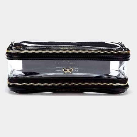 Anya Hindmarch - inflight clear plastic makeup bag - handbag.com