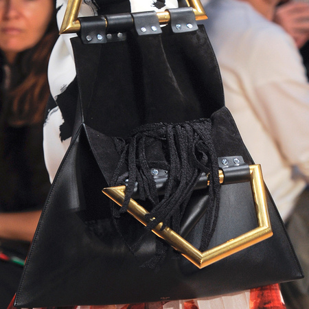 Celine-triangle handbag-black-spring summer 2014-handbag.com