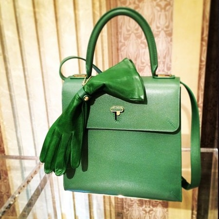 Charlotte Olympia - Bogart Bag - lady like green handbag - instagram - cruise 15 - handbag.com