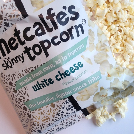 White cheese popcorn - new popcorn flavours - snacking - healthy snacks - food - handbag.com