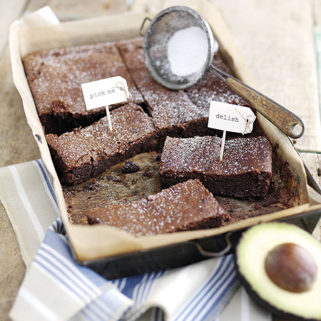 hass avocado brownie recipe - perfect avocado browine recipe - recipes - day bag - handbag.com