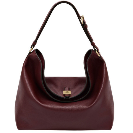 mulberry tessie hobo shoulder bag-oxblood-burgundy-autumn winter 2014 handbags-handbag.com