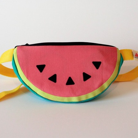 Watermelon bum bag - festival fashion - buy it on your break - ohh deer - handbag.com