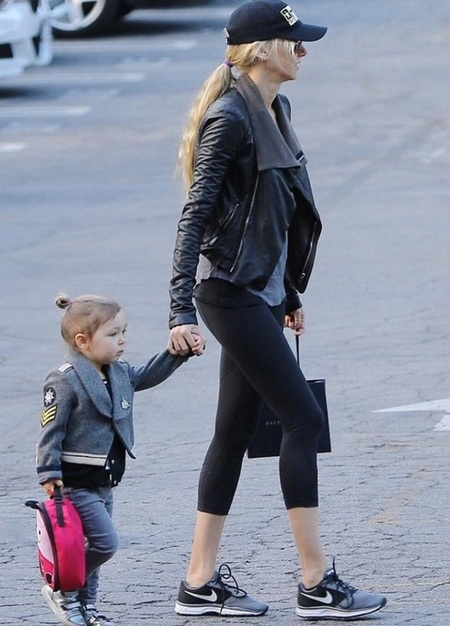 kimberley stewart daughter delilah - cool kids - fashion - celebrity news - baby bag - handbag.com