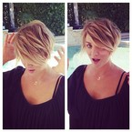 The many hairstyles of Kaley Cuoco