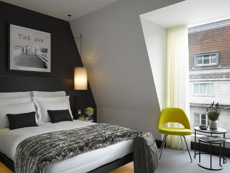 South Place Hotel travel review - hotel reviews - London city guide - travel review - travel bag - handbag.com