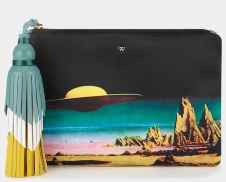 Courtney Star Cruiser clutch anya hindmarch - what lupita nyongo should wear in the new star wars film - shopping bag - handbag