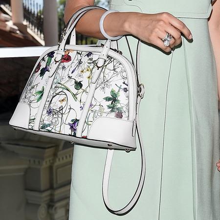 Camilla Belle's Gucci Flora bag