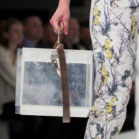 graduate fashion week 2014-best new handbag designers-sophie fisher clear book bag-handbag.com