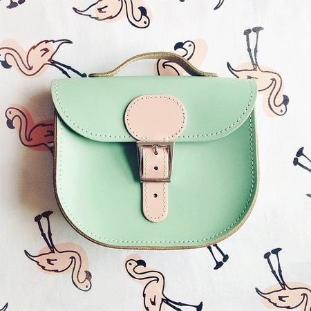 Instagram handbag pictures - green satchel - temp sec - handbag.com