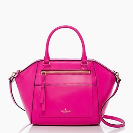 kate spade rok avenue small city duffle bag - pink handbags - shopping bag - handbag