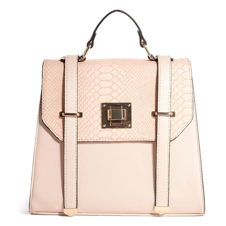 new look eton formal backpack - best pink handbags - shopping bag - handbag