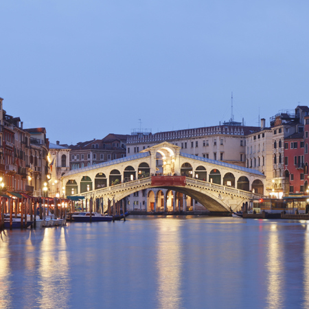 Rialto bridge, Venice - Jerry Hall  - mustdo life experiences - discovery channel - top 10 life experiences - travel feature - travel bag - handbag.com